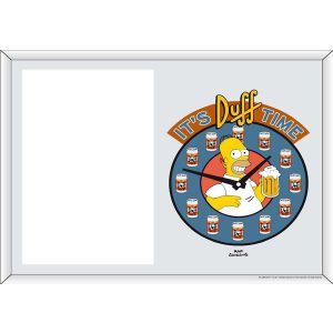 "Portafoto The Simpsons ""It's Duff time"""