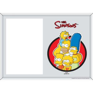 Portafoto The Simpsons familia