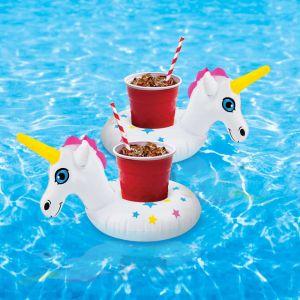 Pack de posavasos Unicornio hinchable