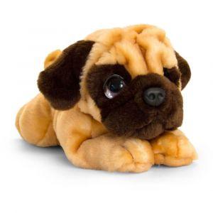 Cachorro Pug, Carlino de peluche 32cm