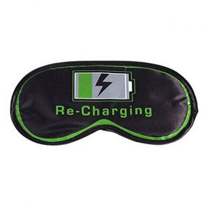 Antifaz para dormir fluorescente Re-Charging