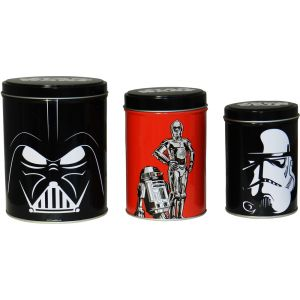 Set de 3 botes de Star Wars