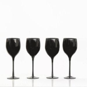 Set 4 copas de Vino negras para catas a ciegas