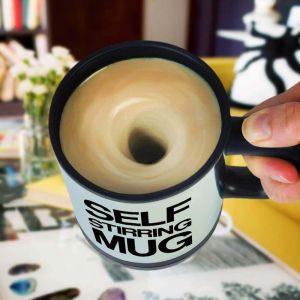 Taza Self Stirring Mug, olvídate de remover con la cuchara