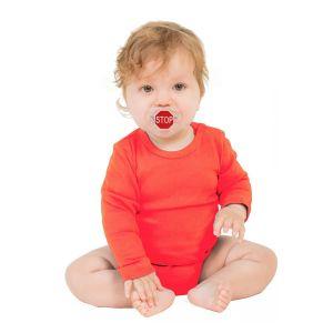 STOP Pacifier, un chupete para bebés con una señal de STOP