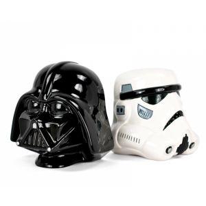 Sujetalibros Darth Vader y Stormtrooper de Star Wars