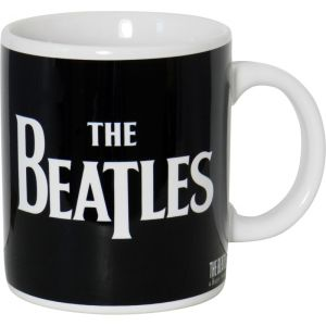 Taza The Beatles modelo Logo blanco y negro