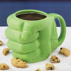 Taza Hulk puño verde