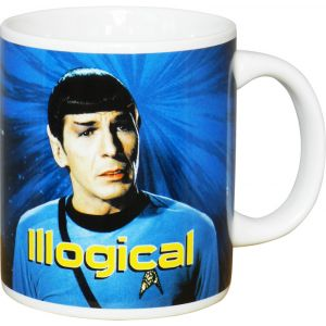 Taza Dr. Spock Illogical (Star Trek)