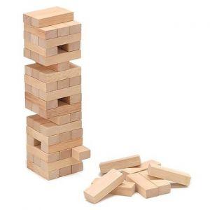 El juego de equilibrio de la Torre de madera