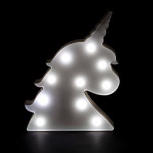 Lámpara Cabeza Unicornio Joven