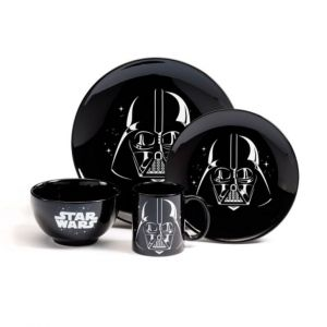 Set vajilla 4 piezas Star Wars, Darth Vader