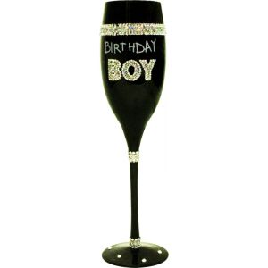 COPA CHAMPAGNE NEGRA BIRTHDAY BOY