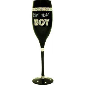COPA CHAMPAGNE NEGRA BIRTHDAY BOY