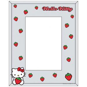 Portafotos Hello Kitty fresas