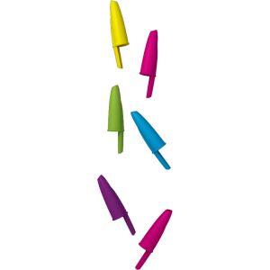 Goma tapón de colores