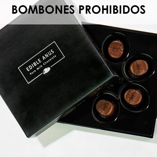 Bombones Ano, de chocolate belga